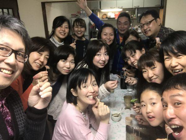 東京セミナーウィークの後は愛メシ❤講座シェア会だよ?